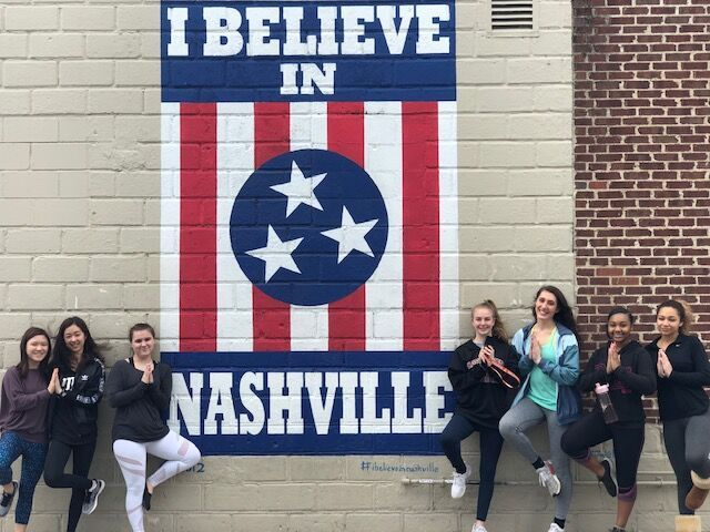 I Believe in Nashville Sign in 12 South