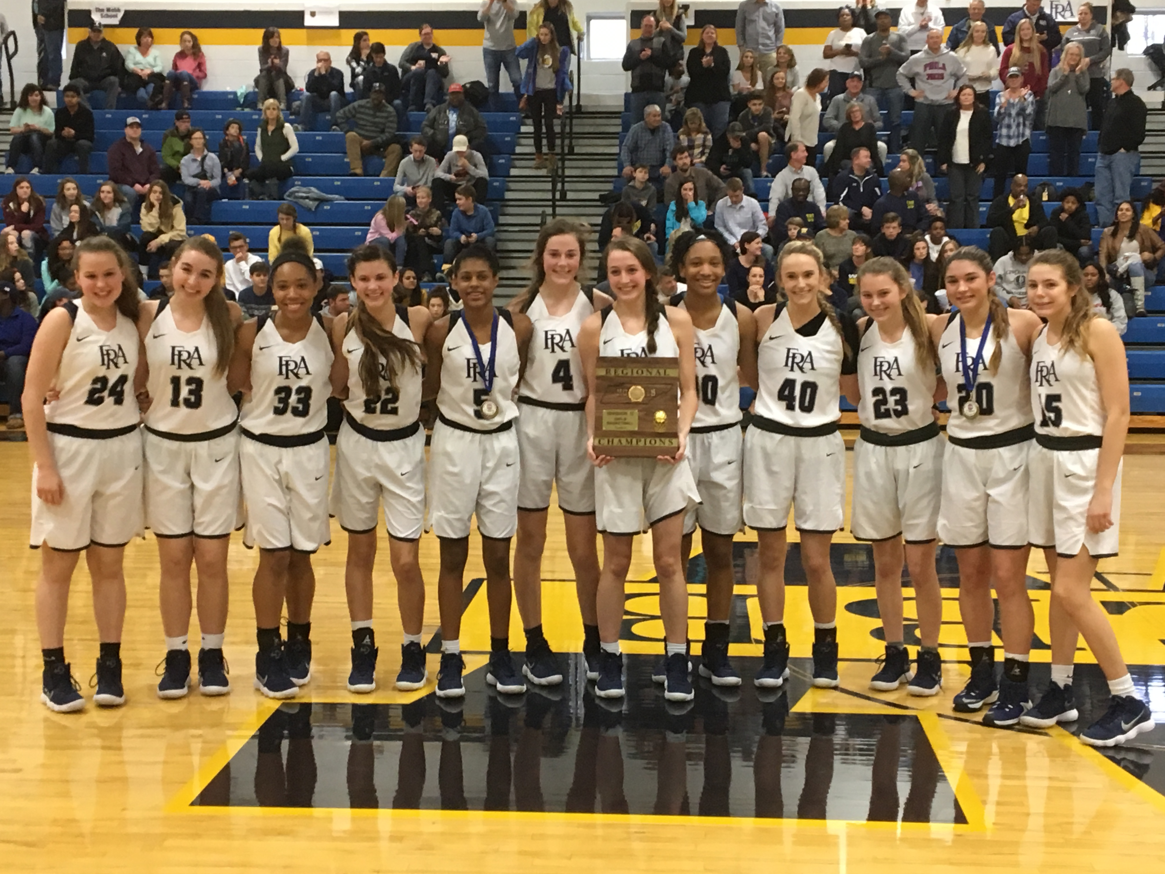 Varsity Girls Win Region Championship