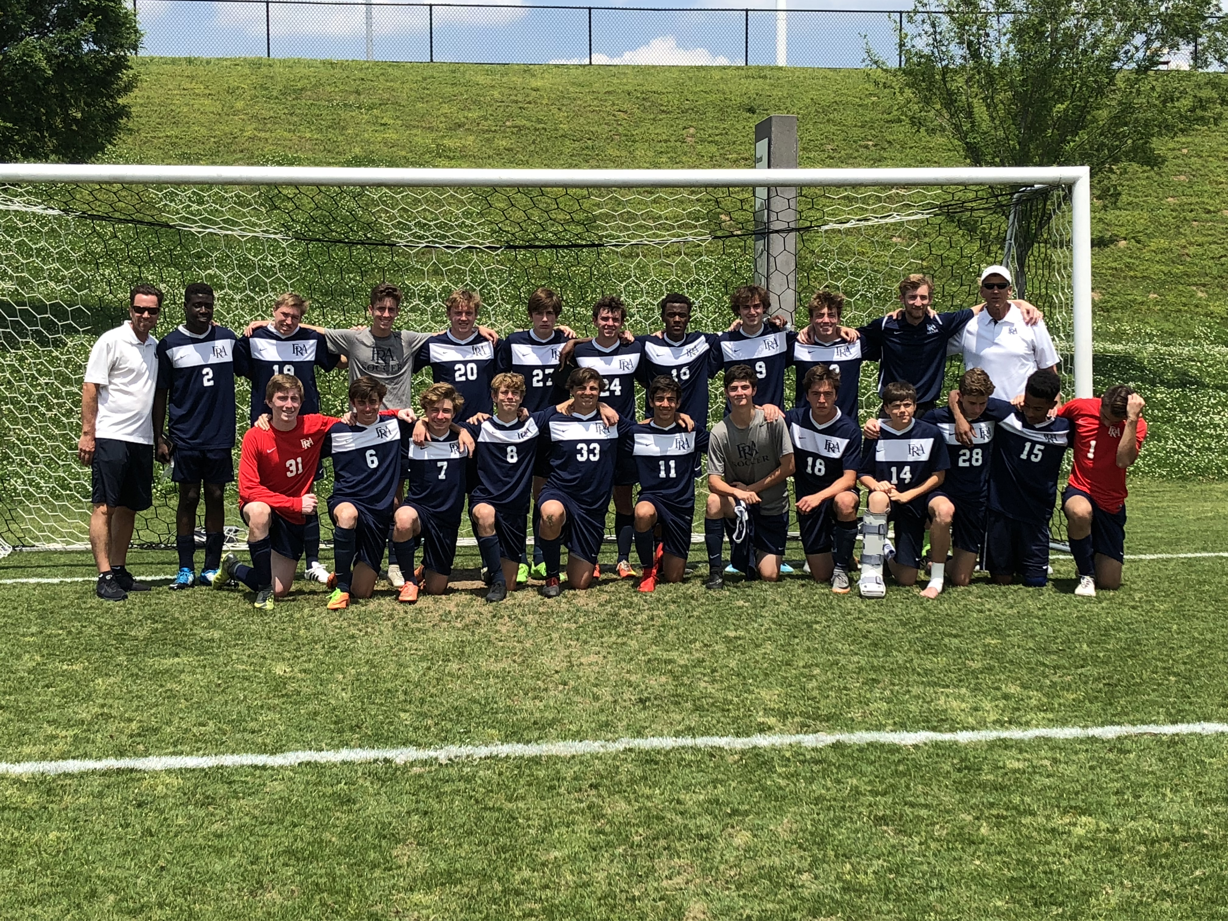 Varsity Boys Soccer Team Heads to Elite Eight