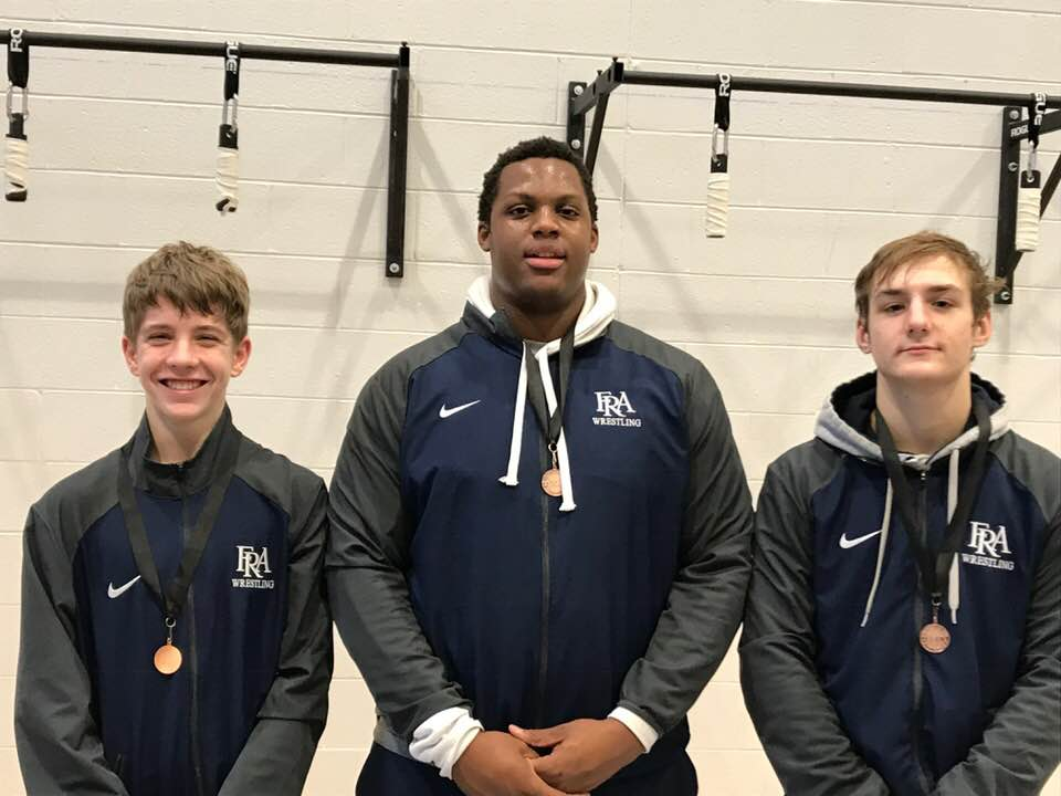 Three FRA Wrestlers Qualify for TSSAA State Championships
