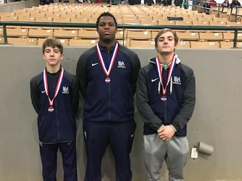 Wrestlers Finish Strong in State Tournament