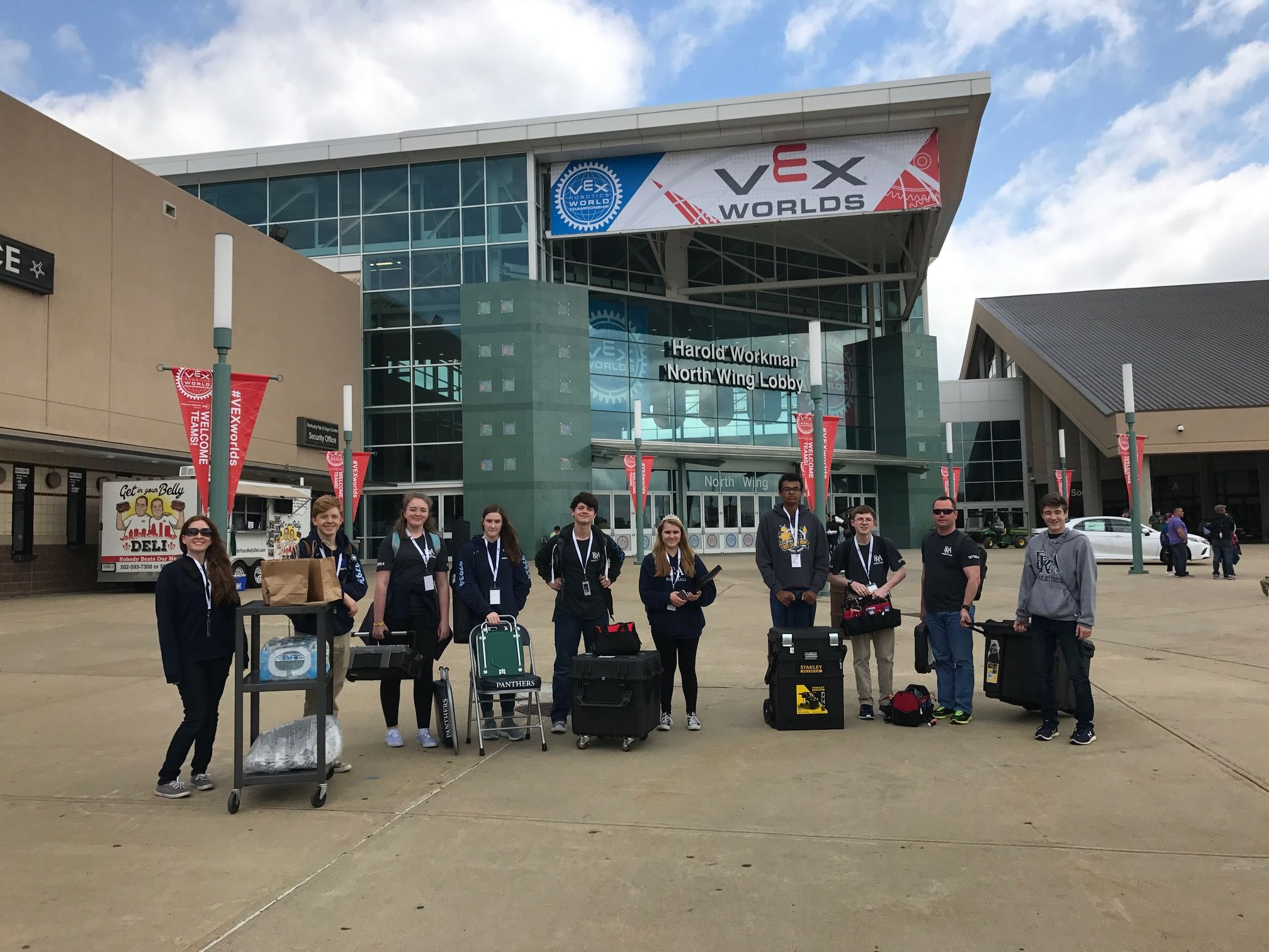FRA Robotics Team Heads to VEX World Championship for Second Year in a Row
