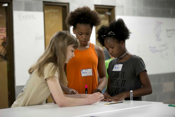 Summer Innovation Institute Connects MNPS Students and Teachers with STEM Education