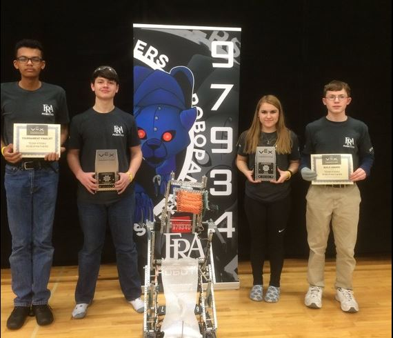 Robotics Team Qualifies for World Championships