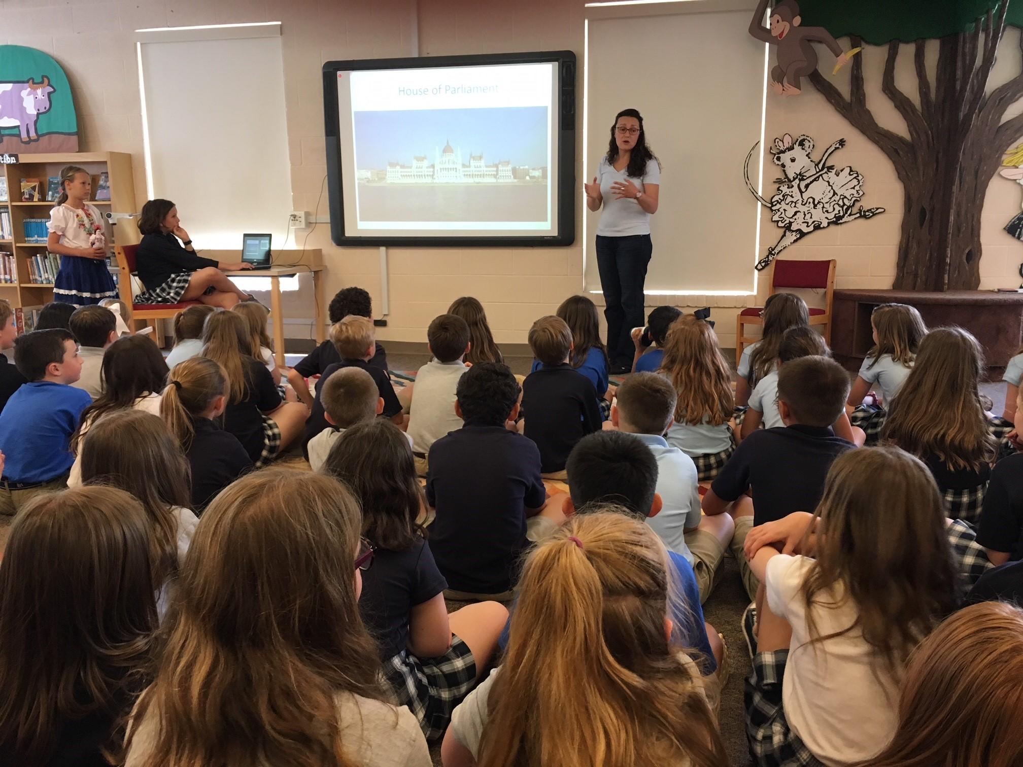 Lower School Students Learn About Other Cultures in International Event