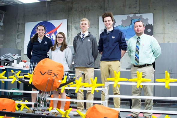 Robotics Team Heads to VEX Robotics World Championship