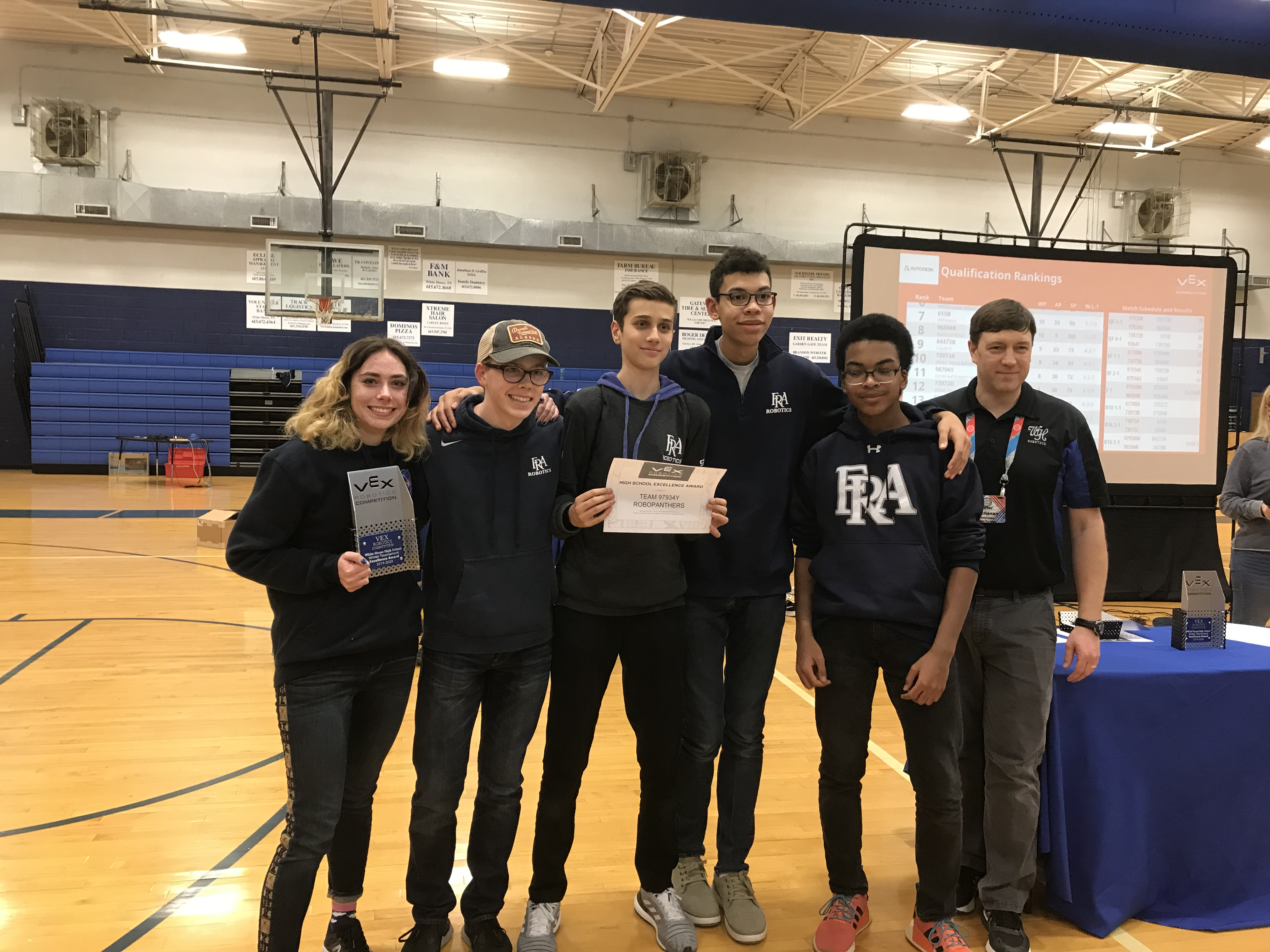 Robotics has a record-winning day at White House tournament